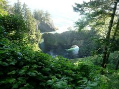 The Secret Natural Wonder Hiding On The Oregon Coast That'll Leave You Speechless