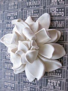 Ceramic flower.