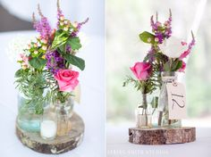 table flowers photographed by Spring Smith!