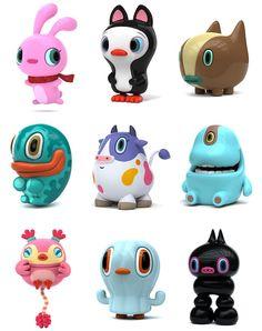 I want, no.. i NEED all Hiroshi Yoshii toys!!!