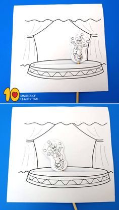 Clown Riding a Unicycle Craft – 10 Minutes of Quality Time – Crafts for Kids Clown Riding a Unicycle Craft clown printable picture Easy Arts And Crafts, Crafts To Do, Crafts For Kids, Paper Crafts, Morning Activities, Fun Activities For Kids, Nursery Rhyme Crafts, Nursery Rhymes, Chameleon Craft