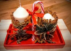 Christmas candles 3