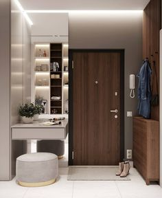 New tall bathroom storage cabinet cupboards Ideas Home Entrance Decor, Entryway Decor, Bedroom Decor, Home Decor, Tall Bathroom Storage Cabinet, Interior Exterior, Interior Design, Dressing Table Design, Closet Remodel