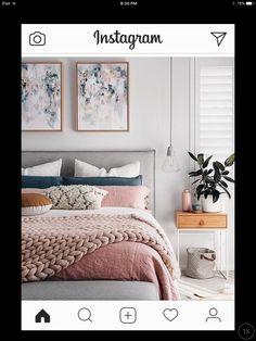 Cute Pink Bedroom Design For Your Valentines Day 03 Room Inspiration, Interior Design, Bedroom Makeover, Bedroom Decor, Home, Interior, Bedroom Inspirations, Home Bedroom, Home Decor