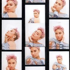 Demi Lovato Style, Pixie Styles, Glamour Magazine, Madly In Love, Film Camera, Pixie Haircut, Queen, American Singers, Most Beautiful Women