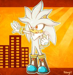 Silver the Hedgehog Photo: Silver Silver The Hedgehog, Sonic The Hedgehog, Sonic Franchise, Sonic Fan Art, The Sonic, Really Cool Stuff, Princess Zelda, Artwork, Video Games