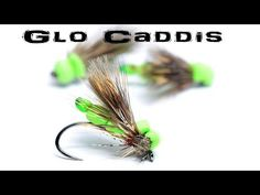 Glen Pointon Glo Caddis - AP Fly Tying - YouTube