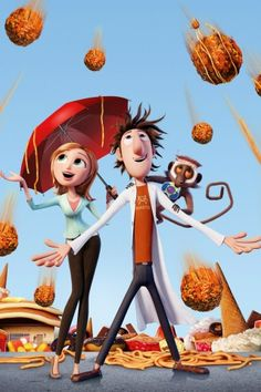 . cloudy with a chance of meatballs .