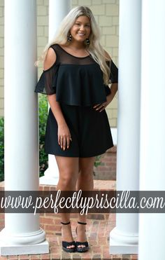 #curvy #fashion #trendy #look #plussize #boutique #romper #cute #summer