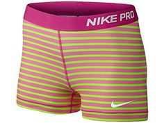 NIKE Nike Women'S Pro Stripe Shorts. #nike #cloth #