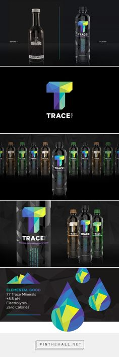 Before & After: Trace NGB — The Dieline - Branding & Packaging... - a grouped images picture - Pin Them All