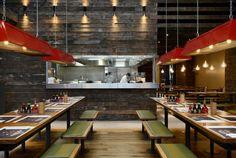Wagamama, Swindon - Focus Design. Restaurant Design
