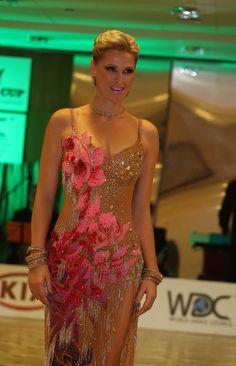 Liliana's flower dress Latin Ballroom Dresses, Latin Dance Dresses, Ballroom Dance, Samba Costume, Just Dance, Flower Dresses, Dance Costumes, Tango, Dance Wear