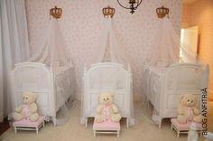 o quarto das trigêmeas | Anfitriã como receber em casa, receber, decoração, festas, decoração de sala, mesas decoradas, enxoval, nosso filhos
