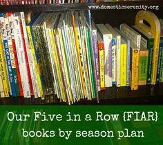 five in a row seasonal plan