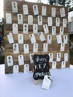 Keys to success - the perfect graduation party idea!