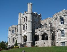 Pythian Castle, Springfield Mo.  Several years ago, when Jack was getting ready to retire...this was for sale.  We contacted a realtor and went through it.  It is a gorgeous building with wonderful possibilities.  We were going to do a bed and breakfast and venue for weddings and receptions and parties.  We chickened out...wish we hadn't.