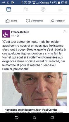 Jean-Paul Curnier Qualité existence société de marché