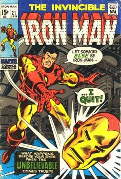 Iron Man #21 Marvel Comics