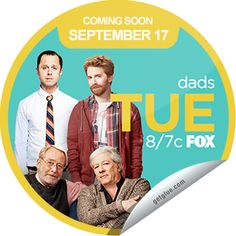 Originals by Italia just unlocked the Dads Season 1 Coming Soon sticker on GetGlue  #Dads #Season1ComingSoon #sticker on #GetGlue  You're looking forward to the premiere of #Dads. Tune in TUES 9/17 at 8/7c on FOX! Share this one proudly. It's from our friends at #FOX.