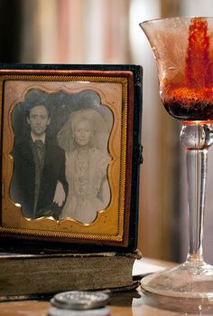 Tom Hiddleston and Tilda Swinton in Only Lovers Left Alive. I can not wait to see this !!