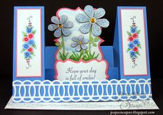 SweetStamps BLOG: Monthly Technique Challenge: DOUBLE SIDE STEP CARD