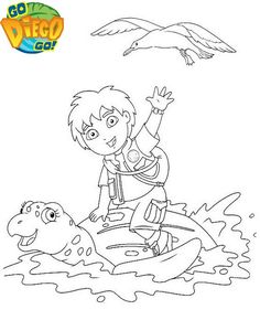 9 best top go diego go coloring pages images on pinterest in 2018