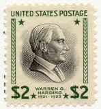 1938 $2 Warren G. Harding Scott 833 Mint F/VF NH