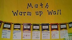 Student created math vocabulary definitions