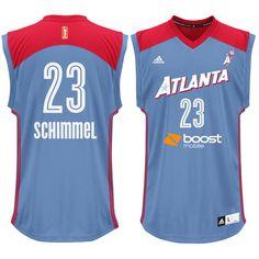 Shoni Schimmel Atlanta Dream adidas Replica Player Jersey - Light Blue - $41.99