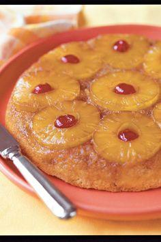 Upside-Down Skillet Cakes: Skillet Pineapple Upside-Down Cake