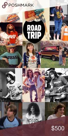 Road Trip Collection Classic USA roadtrip style! Souvenir tees, brands, logos & baseball. The tees you wore in those side-of-the-road family photos are back! American Apparel Other