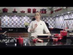 Receitas: Crumble de Maçã - Le Creuset Carole Crema, Le Creuset, Apple Cakes, Superhero Party, Desserts, Youtube, Gluten, Banana, Top