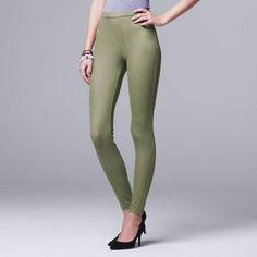 f9a772348f53bc Vera Wang Women's Simply Vera Denim Leggings #Women#Wang#Vera Natural  Curves,