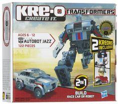 AUTOBOT takımının özel operasyon komutanı AUTOBOT JAZZ, göreve hazır! 122 KRE-O yapım parçalı bu setle JAZZ'i hem robot hem de dönüştüğü yarış arabası modunda inşa et.  KRE-O TRANSFORMERS - Autobot Jazz - 122 Parça sadece 29,90 TL!