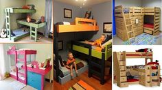 Detská izba pre tri detičky - Byvanie je hra