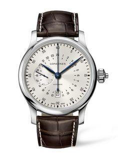 Longines Twenty-Four Hours Single Push-Piece Chronograph horloge (L2.797.4.73.0) ✓ Officieel Dealer Longines. ✓ Géén verzendkosten ✓ Uit voorraad leverbaar