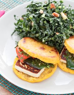 """Arepas are flatbreads made from masarepa (maize flour). They're most popular in Colombia and Venezuela, where arepas have been part of the region's cuisine for centuries. The word """"arepa"""" comes from a local indigenous language and means, roughly, """"cornbread."""""""