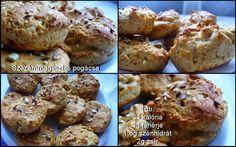 Réka alakbarát receptjei - szénhidrátcsökkentett, bűntelen finomságok: Pogácsa (szezámmaglisztből)