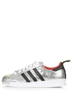 Photo 1 of Premium Superstar '80s Trainers by Topshop for adidas Originals