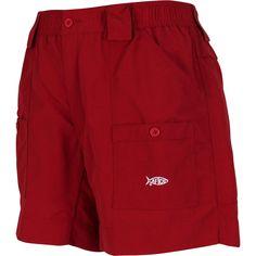 274a6db45fec7 Aftco Original Fishing Shorts - Chili. Fishing Shorts, Chili, Elastic  Waist, Swim Trunks ...
