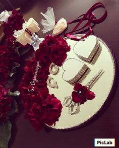 All Details You Need to Know About Home Decoration - Modern Engagement Decorations, Wedding Decorations, Wedding Crafts, Diy Wedding, Engagement Ring Platter, Afghan Wedding, Trousseau Packing, Ring Holder Wedding, Tray Decor