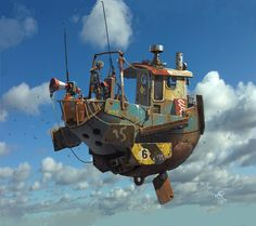 Ian McQue - Concept art that's as good as it gets