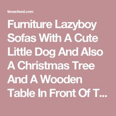 Furniture Lazyboy Sofas With A Cute Little Dog And Also A Christmas Tree And A Wooden Table In Front Of The Sofa Comfortable Lazyboy Sofas Bed Reviews. Discontinued. Fridge.  ~ Home Designing Tips  ~ Great pin! For Oahu architectural design visit http://ownerbuiltdesign.com