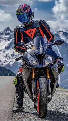 Get a bike, get a life. Motorcycle Suit, Suzuki Motorcycle, Chopper Motorcycle, Moto Bike, Beast Mode, Biker Photoshoot, Bike Leathers, Ducati Motorcycles, Yamaha