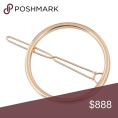 BOGO FREE PLUS 10% OFF BUNDLE & I WILL SEND OFFER Pretty circle barrette. Price for one Accessories Hair Accessories
