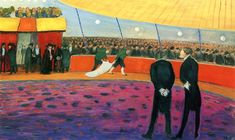 Circus (also known as Circus before the Performance)(Marianne von Werefkin - 1910)