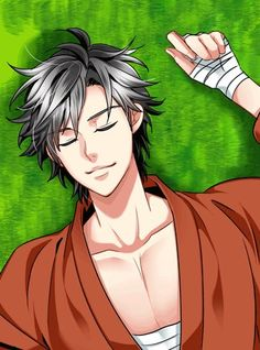 Awwww Sleeping Yukimura!!! <3