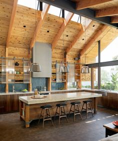 Below are the Farmhouse Kitchen Art Ideas. This article about Farmhouse Kitchen Art Ideas was posted under the Kitchen category by our team at September 2019 at pm. Barn Kitchen, Kitchen Art, Kitchen Tools, Contemporary Cottage, Kitchen Lighting Fixtures, Rustic Kitchen Lighting, Professional Kitchen, Cuisines Design, Mid Century House