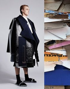 """XIMON LEE is a BA/BFA graduating menswear student at Parsons. His final thesis collection entitled """"Children of Leningradsky"""", was inspired by a trip to Russia earlier this year. The unintentional styles of street children near suburban Moscow is the... »"""